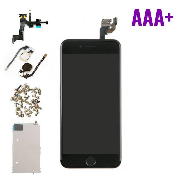 """iPhone 6 4.7"""" Voorgemonteerd Scherm (Touchscreen + LCD + Onderdelen) AAA+ Kwaliteit - Zwart"""