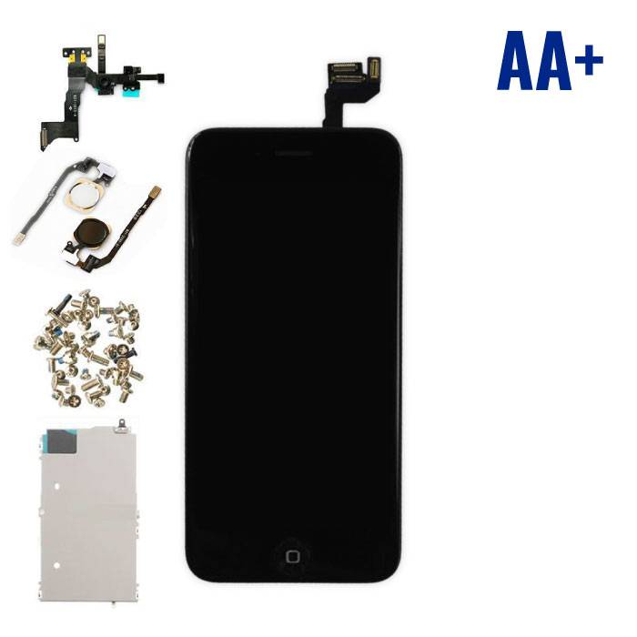 "iPhone 6S 4.7 ""Front Mounted Display (LCD + Touch Screen + Parts) AA + Quality - Black"