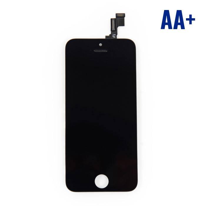 iPhone SE/5S Scherm (Touchscreen + LCD + Onderdelen) AA+ Kwaliteit - Zwart
