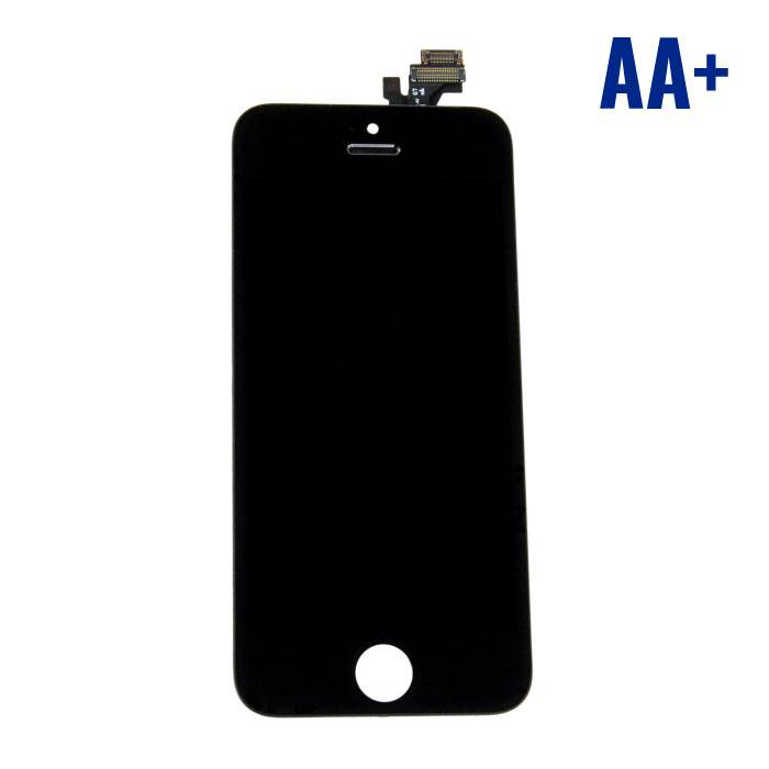 iPhone 5 Screen (LCD + Touch Screen + Parts) AA + Quality - Black