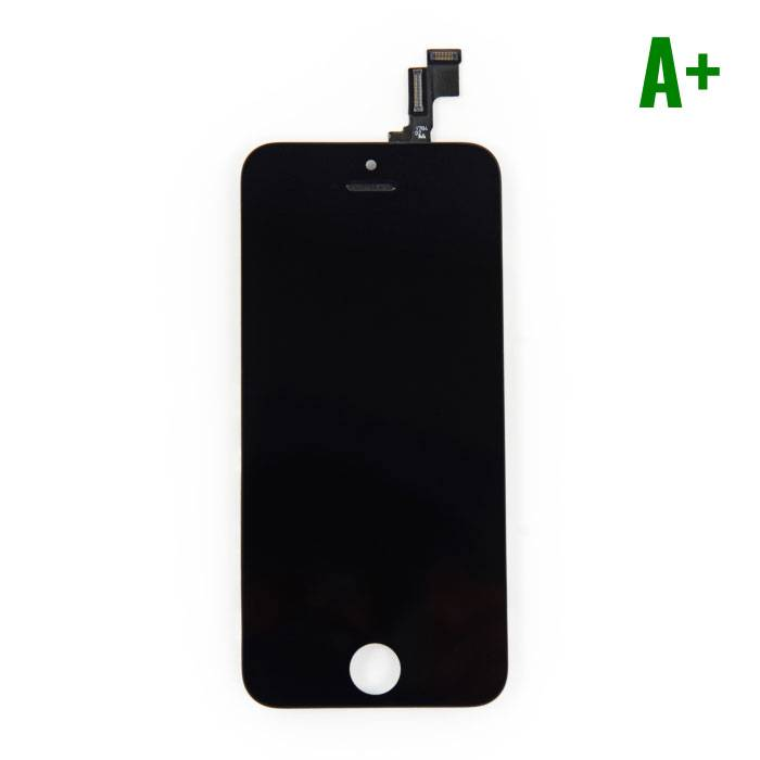 iPhone 5S screen (Touchscreen + LCD + Parts) A + Quality - Black