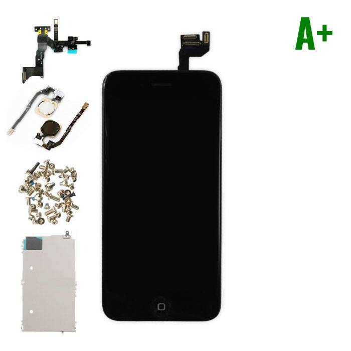 "iPhone 6S 4.7 ""Front Mounted Display (LCD + Touch Screen + Parts) A + Quality - Black"