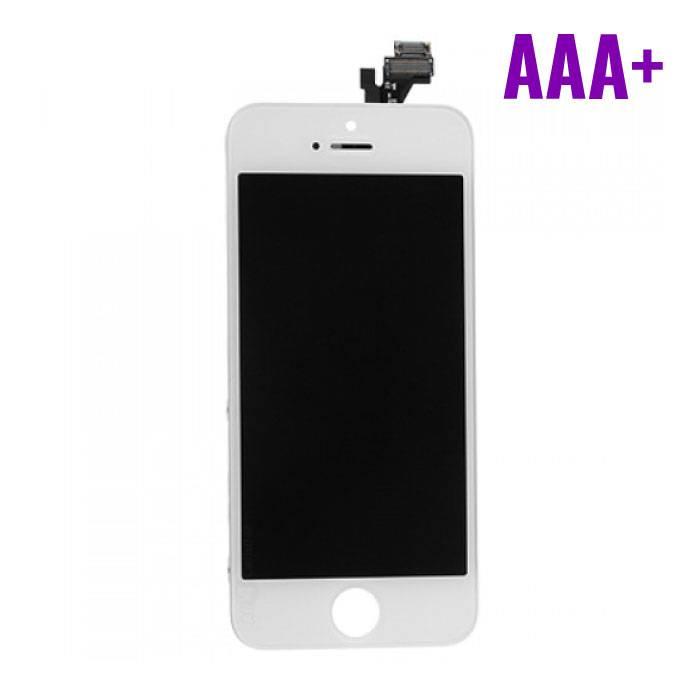 iPhone 5 Scherm (Touchscreen + LCD + Onderdelen) AAA+ Kwaliteit - Wit