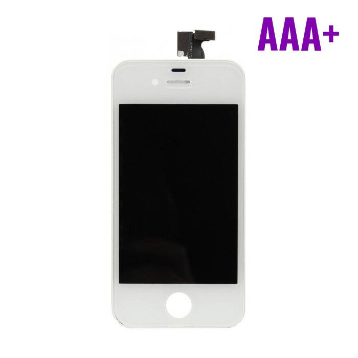 iPhone 4 Display (LCD + Touch Screen + Parts) AAA + Quality - White