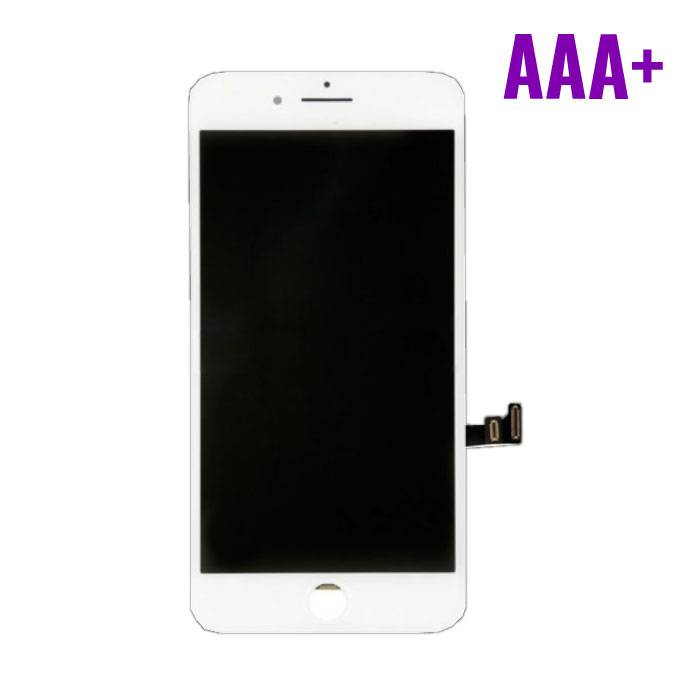 8 iPhone Plus screen (Touchscreen + LCD + Parts) AAA + Quality - White