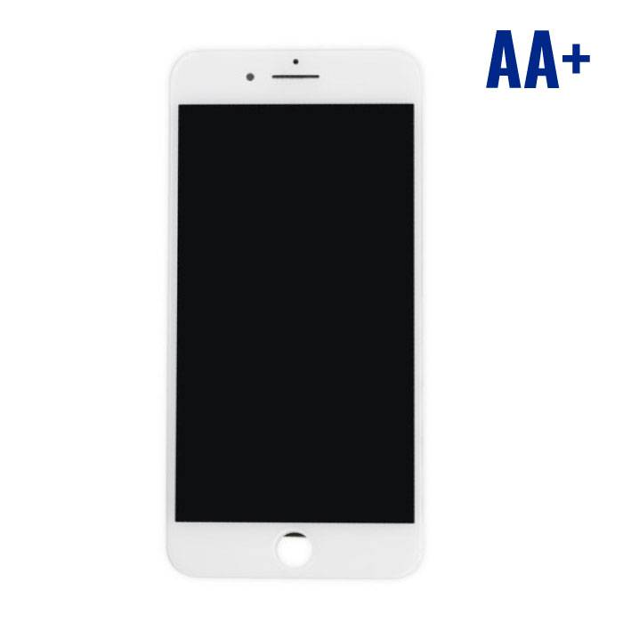 iPhone 7 Plus screen (Touchscreen + LCD + Parts) AA + Quality - White