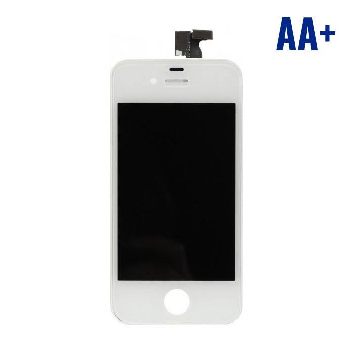 iPhone 4 Scherm (Touchscreen + LCD + Onderdelen) AA+ Kwaliteit - Wit