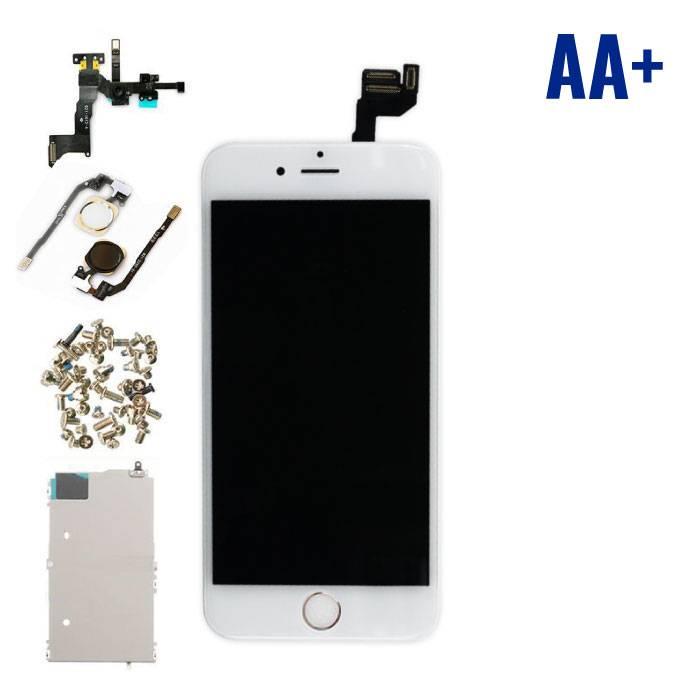 iPhone 6S 4.7 « affichage monté àl'avant (écran LCD + tactile + Pièces) AA+ Qualité - Blanc