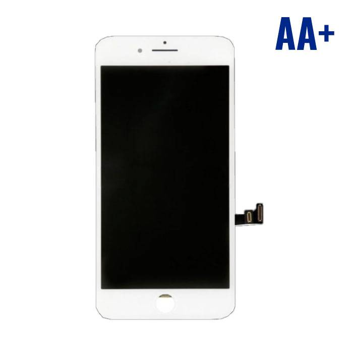 8 iPhone Plus screen (Touchscreen + LCD + Parts) AA + Quality - White