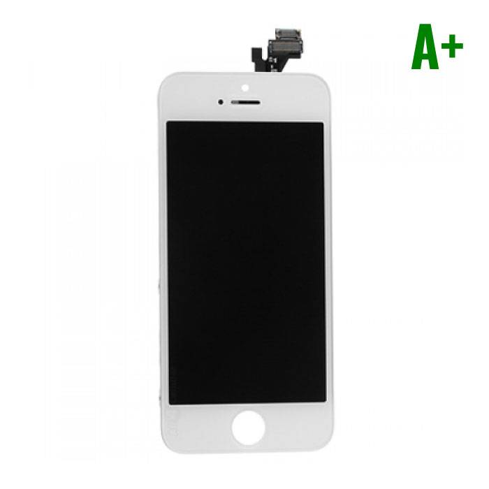 iPhone 5 Screen (LCD + Touch Screen + Parts) A + Quality - White