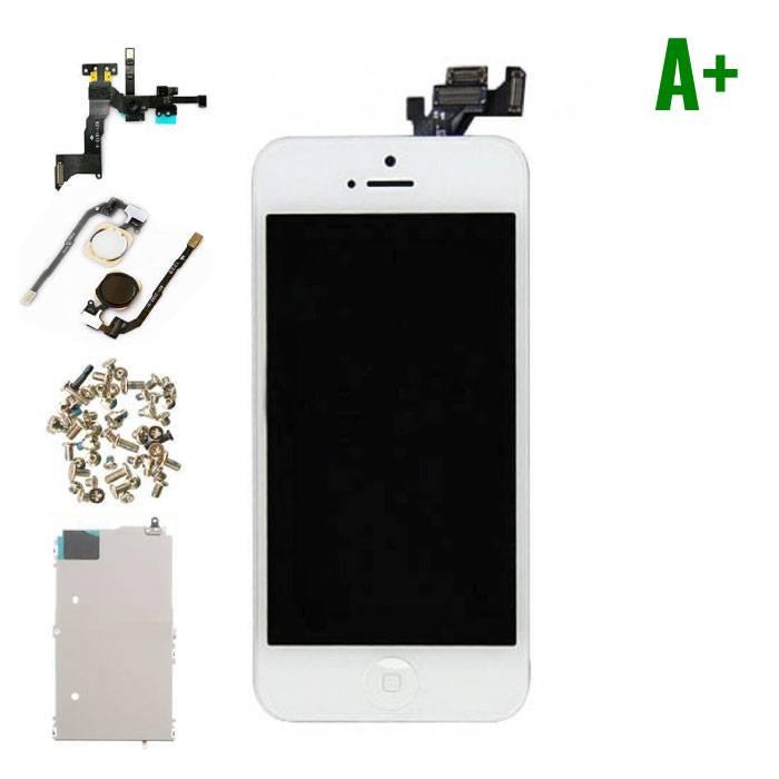 iPhone 5 écran prémonté (écran tactile + LCD + Parts) A+ Qualité - Blanc