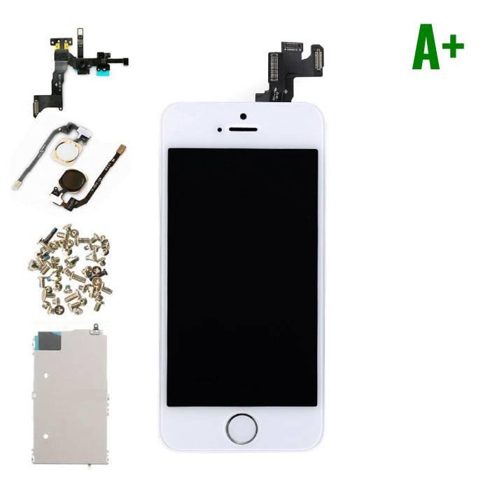 iPhone 5s affichage monté àl'avant (LCD + écran tactile + pièces) A+ Qualité - Blanc