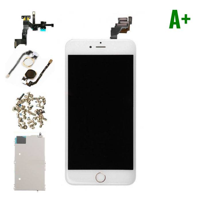 iPhone 6 Plus Pre-mounted screen (Touchscreen + LCD + Parts) A + Quality - White