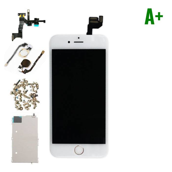 "iPhone 6S 4.7 ""Front Mounted Display (LCD + Touch Screen + Parts) A + Quality - White"