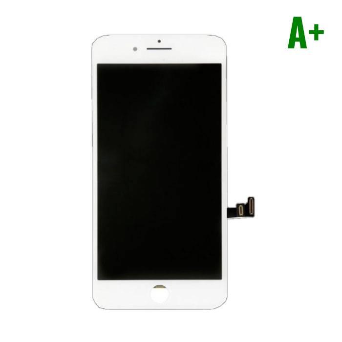 iPhone 8 Scherm (Touchscreen + LCD + Onderdelen) A+ Kwaliteit - Wit