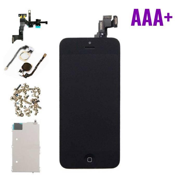 Pour iPhone 5C Mounted Display (écran LCD + tactile + Pièces) AAA+ Qualité - Noir