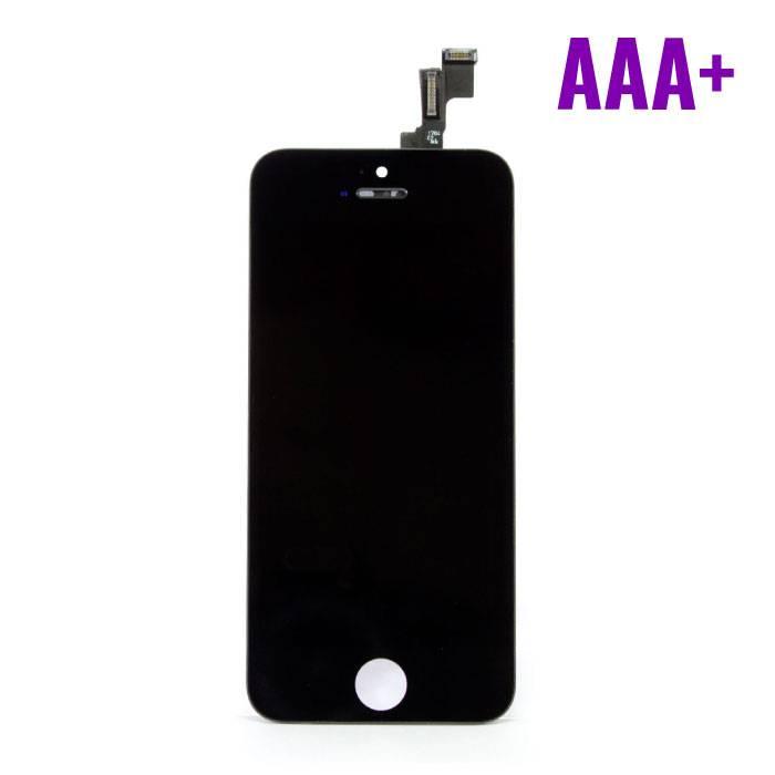 iPhone 5C Scherm (Touchscreen + LCD + Onderdelen) AAA+ Kwaliteit - Zwart