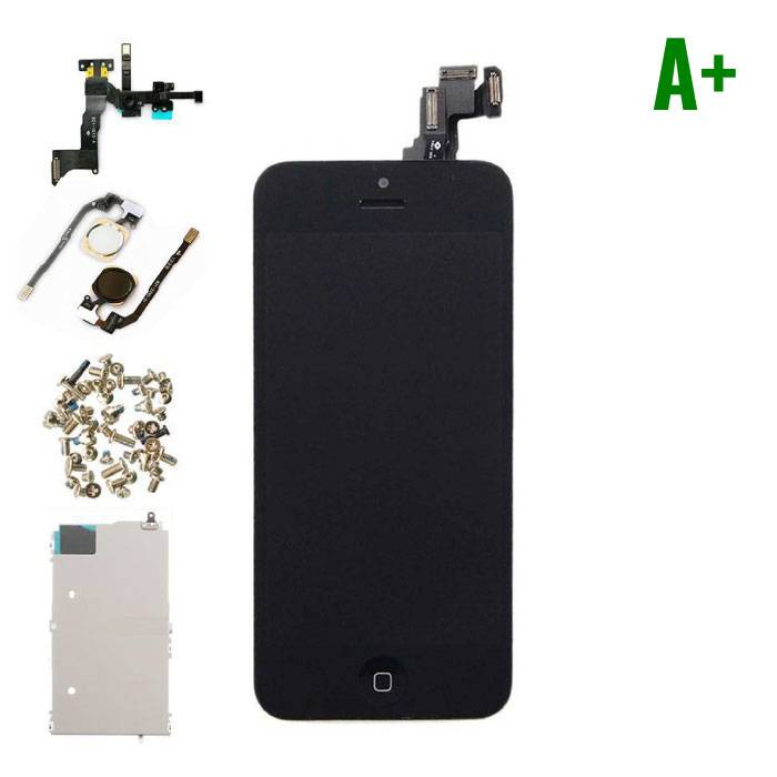 For iPhone 5C Mounted Display (LCD + Touch Screen + Parts) A + Quality - Black