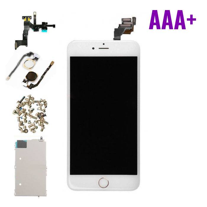 iPhone 6 Plus Pre-mounted screen (Touchscreen + LCD + Parts) AAA + Quality - White