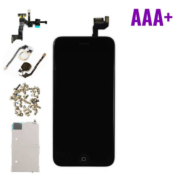 "iPhone 6S 4.7 ""Front Mounted Display (LCD + Touch Screen + Parts) AAA + Quality - Black"
