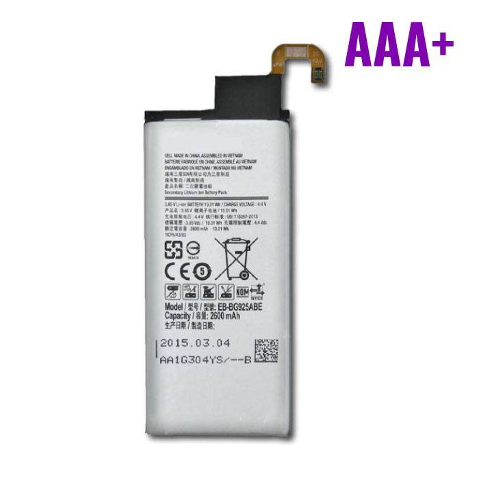 Samsung Galaxy S6 Edge Battery / Battery AAA + Quality