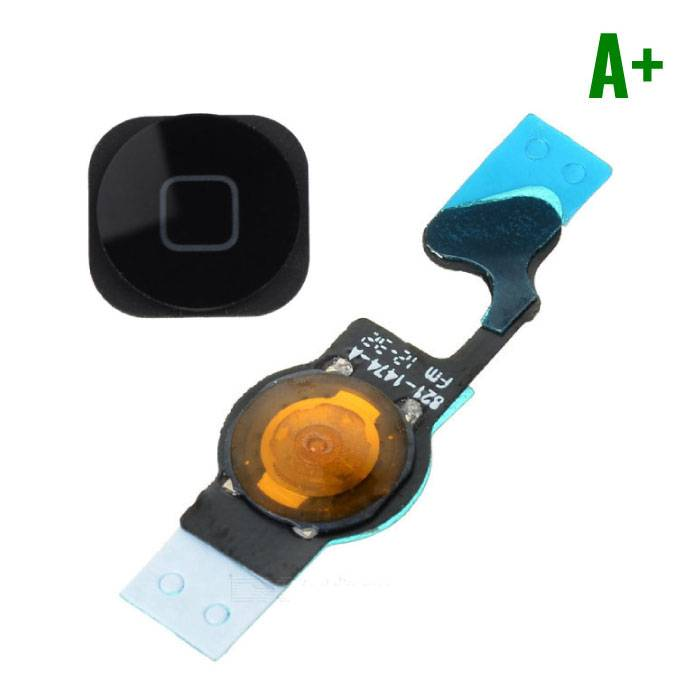 Apple iPhone 5 - A + Home Button Flex Cable Assembly Black
