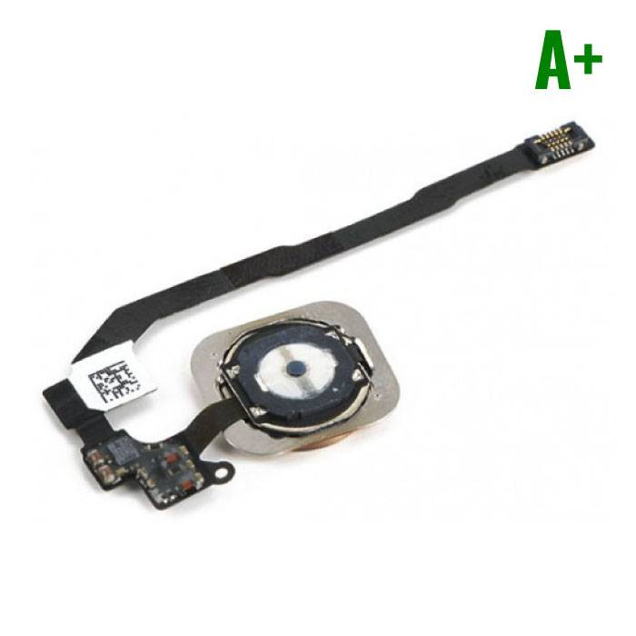 Voor Apple iPhone 5S - A+ Home Button Assembly met Flex Cable Zwart