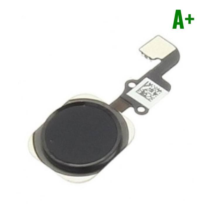Pour Apple iPhone 6/6 Plus - A+ Bouton Accueil Flex Assemblée cable Noir