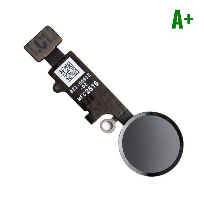 Apple iPhone 7 - A+ Bouton Accueil Flex Assemblée cable Noir
