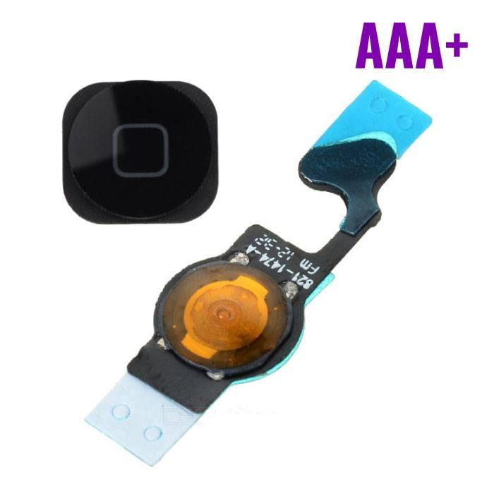 Apple iPhone 5 - AAA+ Accueil Bouton Flex Assemblée cable noir