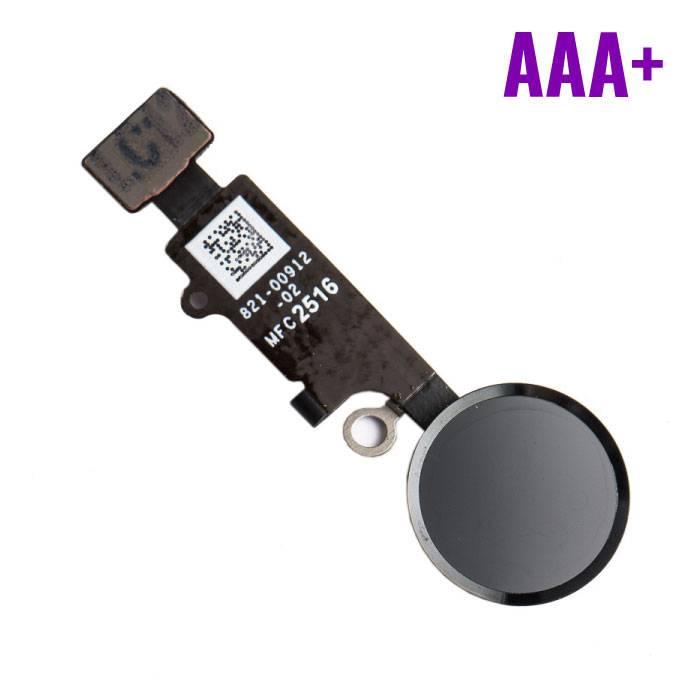 Voor Apple iPhone 7 - AAA+ Home Button Assembly met Flex Cable Zwart