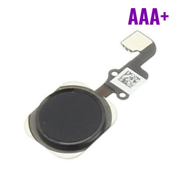 Voor Apple iPhone 6/6 Plus - AAA+ Home Button Assembly met Flex Cable Zwart