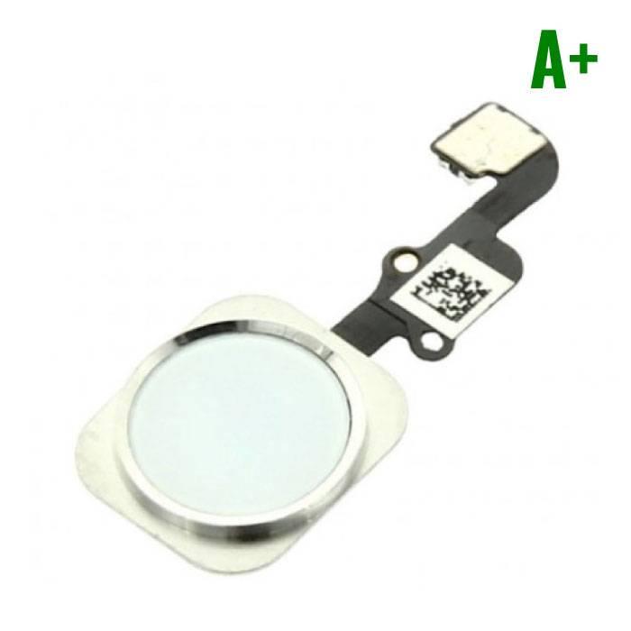 Pour Apple iPhone 6/6 Plus - A+ Bouton Accueil Flex Assemblée avec cable blanc