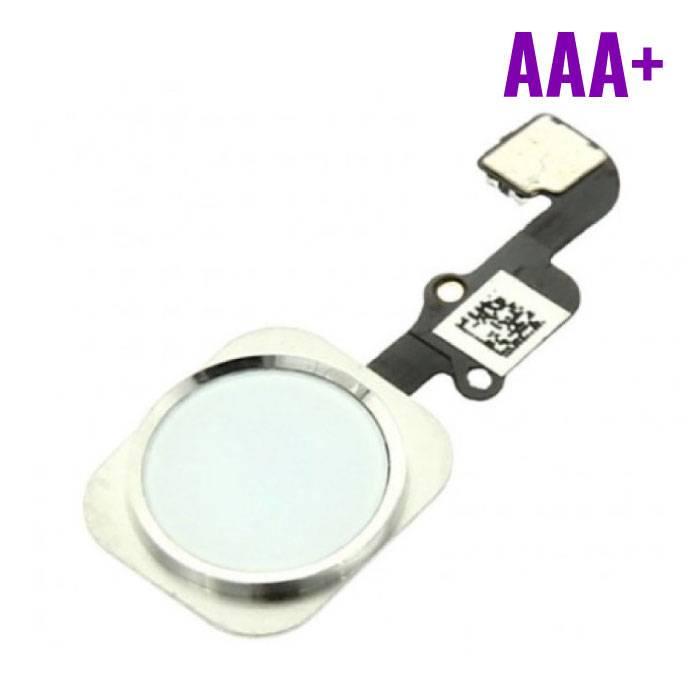 Pour Apple iPhone 6/6 Plus - AAA+ Bouton Accueil Flex Assemblée avec cable blanc