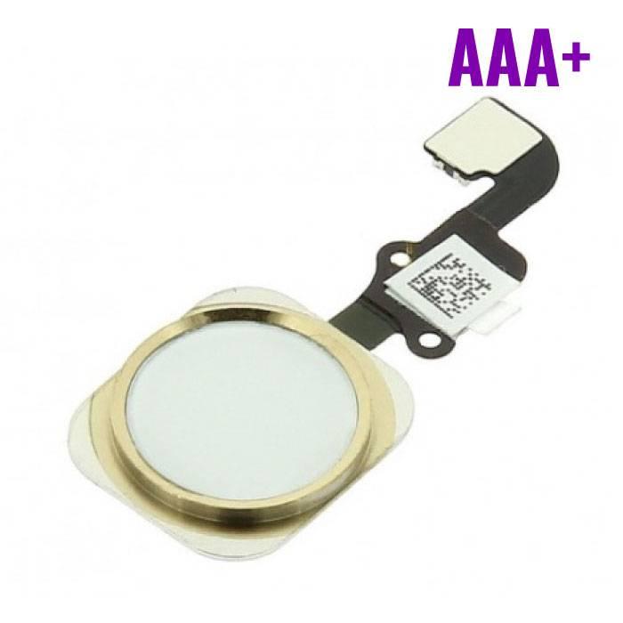 Pour Apple iPhone 6/6 Plus - AAA+ Bouton Accueil Flex Assemblée par cable avec de l'or