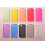 Stuff Certified® Étui TPU couvercle transparent en silicone transparent en 10 teintes iPhone 4 4S