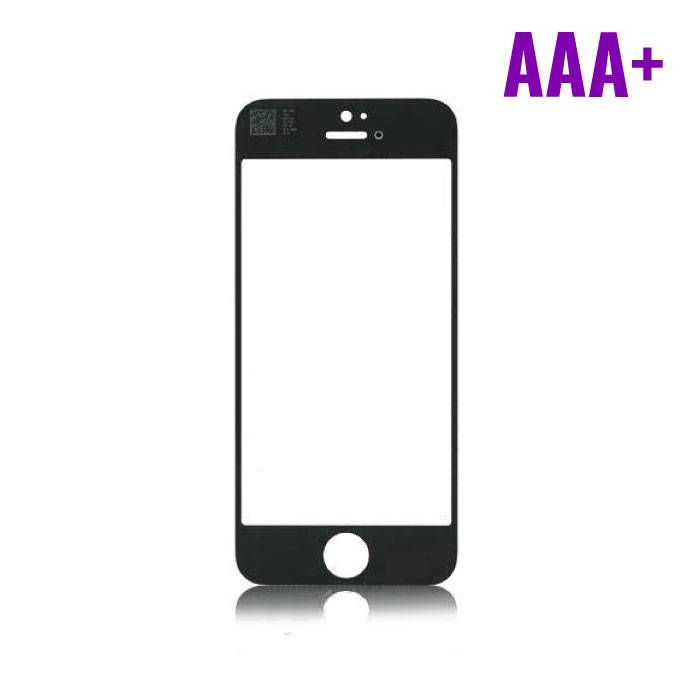 iPhone 4 / 4S Front Glass AAA + Quality - Black
