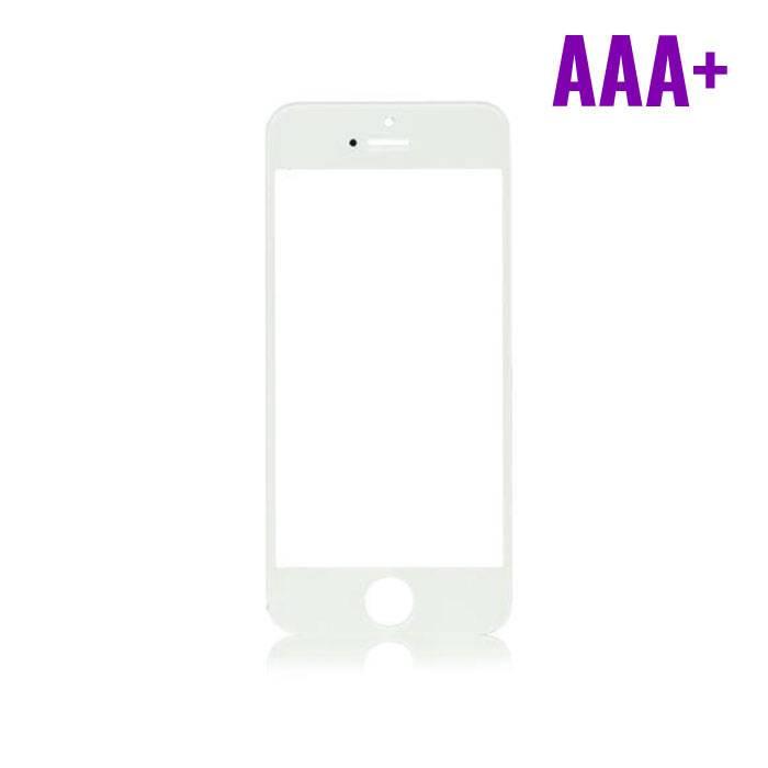 iPhone 5 / 5C / 5S / SE AAA+ verre avant Qualité - Blanc