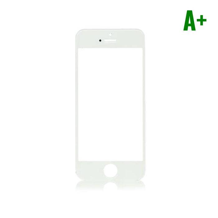 iPhone 5/5C/5S/SE Frontglas Glas Plaat A+ Kwaliteit - Wit