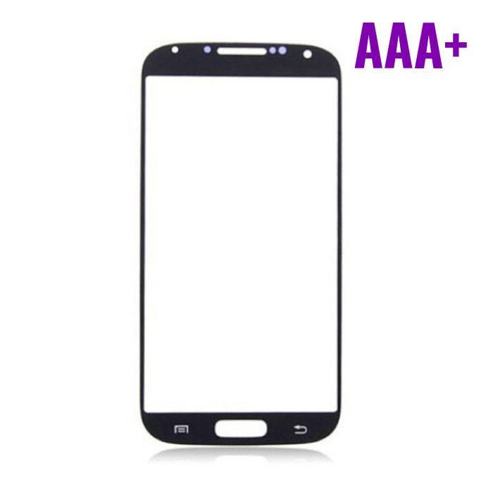 Samsung Galaxy S4 i9500 Frontglas Glas Plaat AAA+ Kwaliteit - Zwart