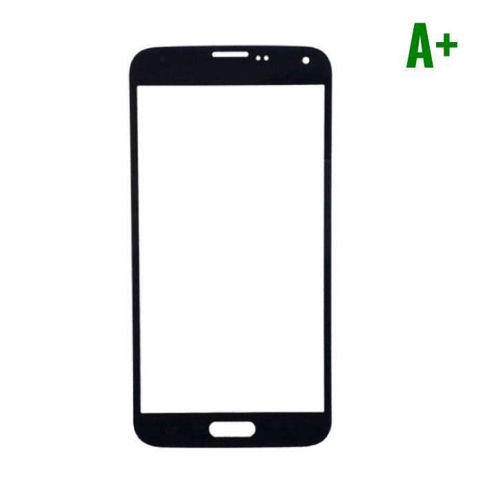 Samsung Galaxy S5 i9600 Frontglas Glas Plaat A+ Kwaliteit - Zwart