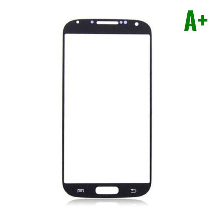 Samsung Galaxy S4 i9500 A + Quality Front Glass - Black