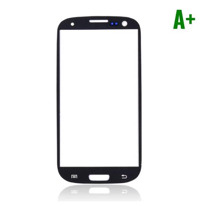 Samsung Galaxy S3 i9300 A+ verre avant Qualité - Noir