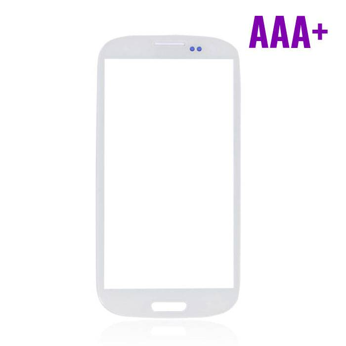 Samsung Galaxy S3 i9300 Frontglas Glas Plaat AAA+ Kwaliteit - Wit