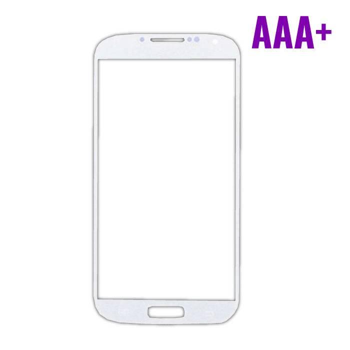 Samsung Galaxy S4 i9500 AAA+ avant Verre Qualité - Blanc