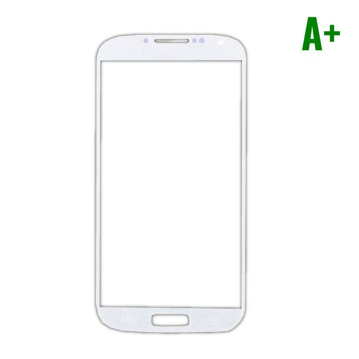 Samsung Galaxy S4 i9500 A+ verre avant Qualité - Blanc