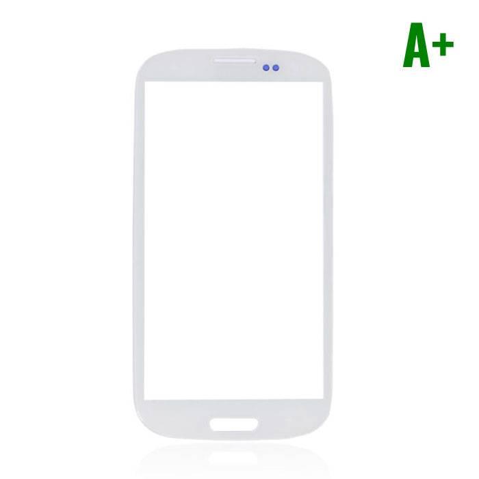 Samsung Galaxy S3 i9300 Frontglas A+ Kwaliteit - Wit