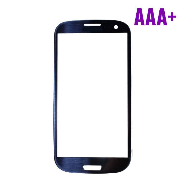 Samsung Galaxy S3 i9300 AAA+ Qualité avant Verre - Bleu