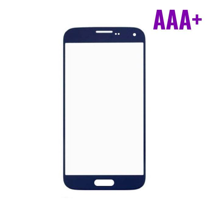 Samsung Galaxy S5 i9600 AAA + Quality Front Glass - Blue