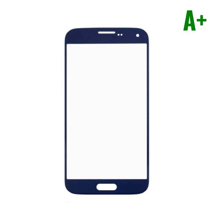 Samsung Galaxy S5 i9600 A + Quality Front Glass - Blue